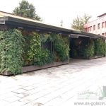 دیوار سبز فضای باز